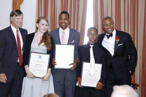 rising-stars-ted-virtue-educational-scholarship-recipients-with-sponsor-ted-virtue-and-jay-williams